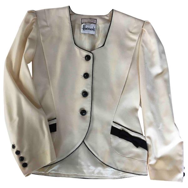 Harrods White Wool Jacket