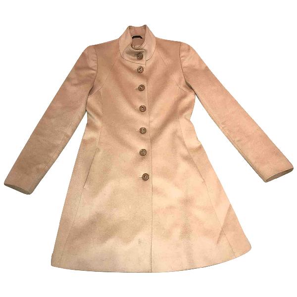 Harrods Beige Cashmere Coat