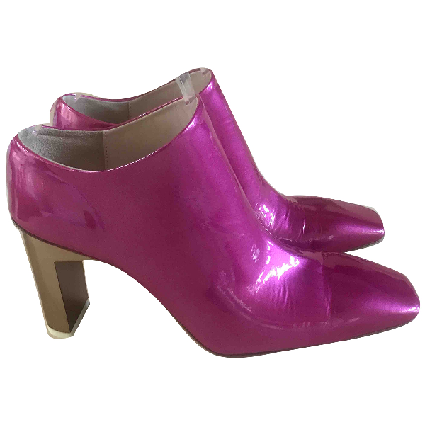 Alyx Pink Patent Leather Heels