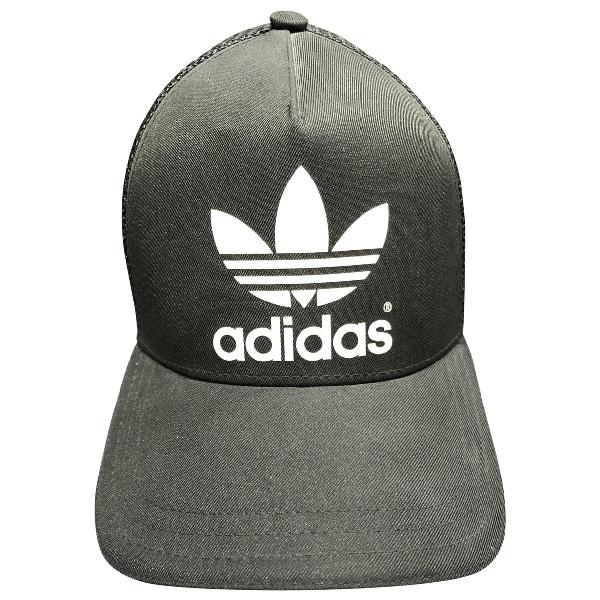 Adidas Originals Black Cotton Hat & Pull On Hat