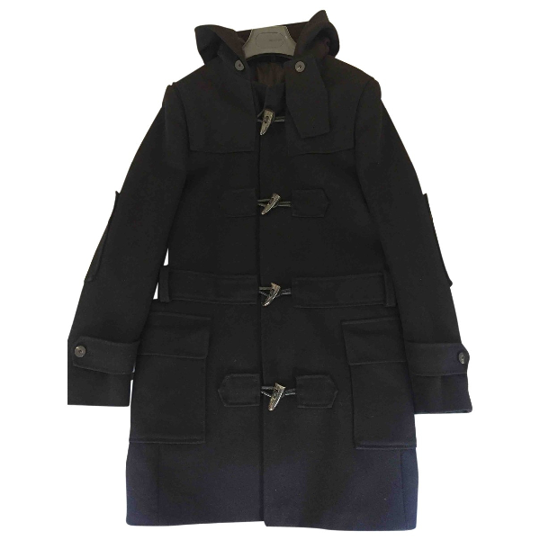 Tonello Black Wool Coat