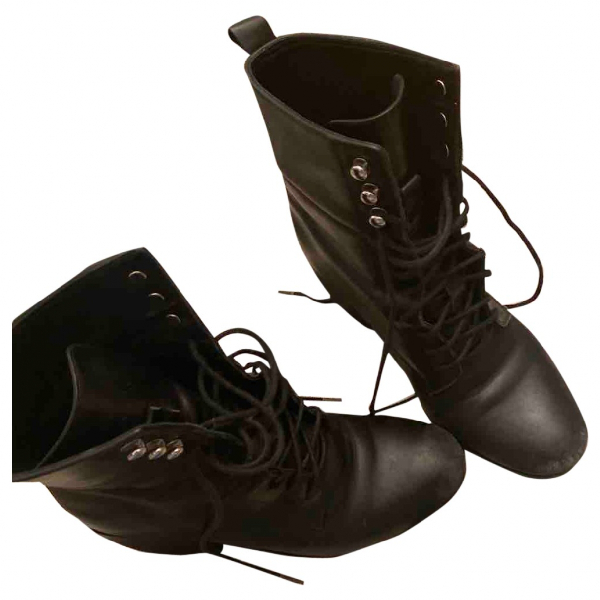 Tiger Of Sweden Black Leather Boots