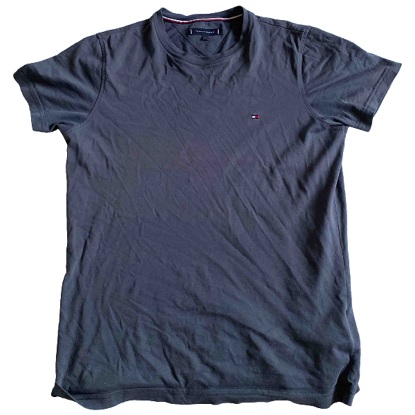 Tommy Hilfiger Grey Cotton T-shirts
