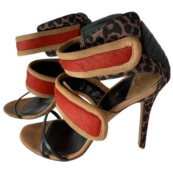 Daniele Michetti Multicolour Leather Heels