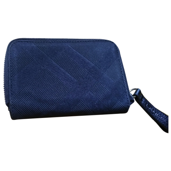 Lancel 1er Flirt Black Tweed Clutch Bag