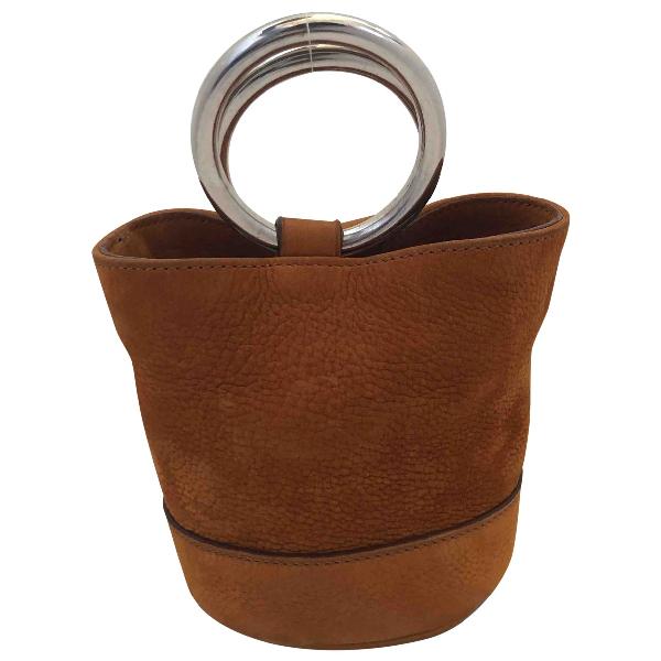 Simon Miller Small Bonsai Camel Leather Handbag