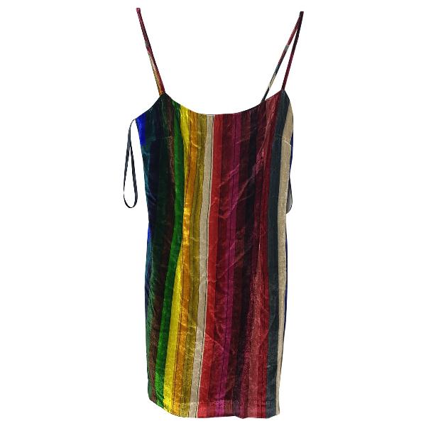Milly Multicolour Velvet Dress