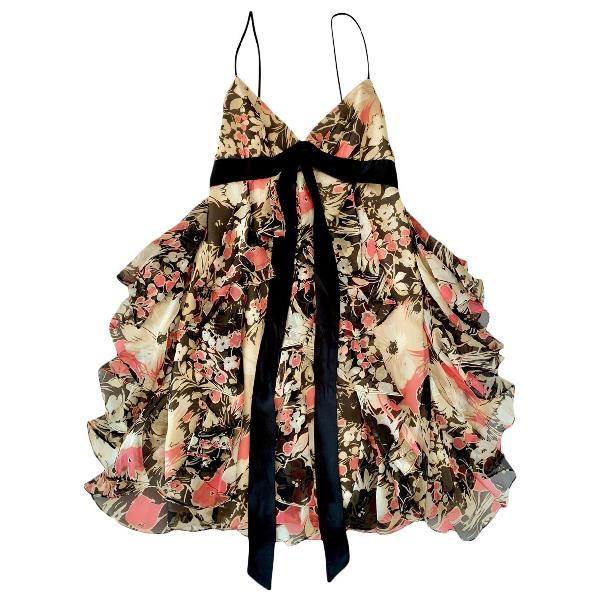 Milly Multicolour Silk Dress