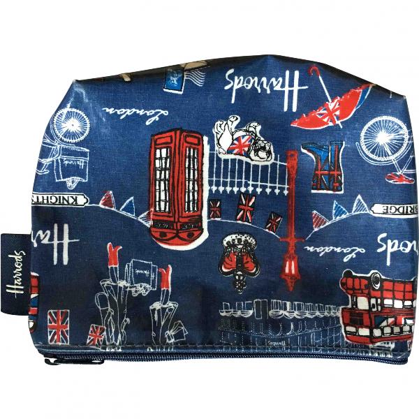 Harrods Blue Travel Bag
