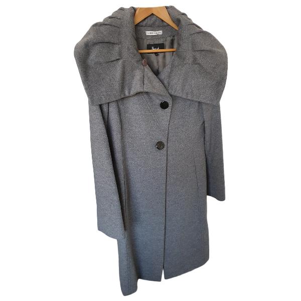 Harrods Grey Wool Coat