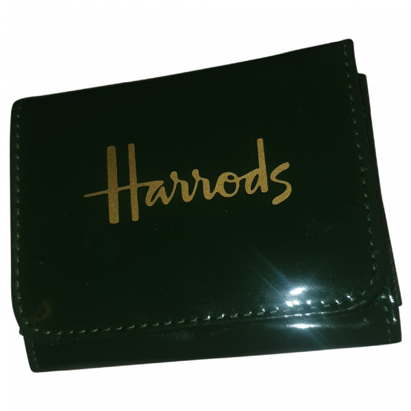 Harrods Green Wallet
