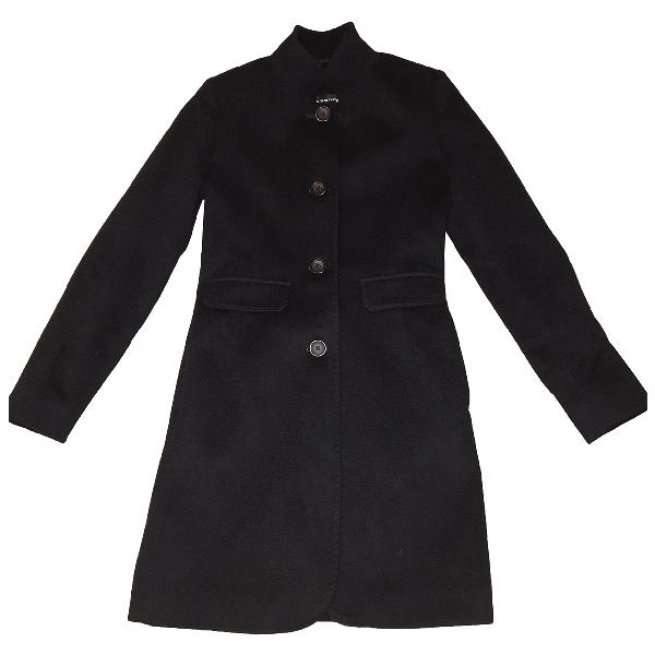 Harrods Blue Cashmere Coat