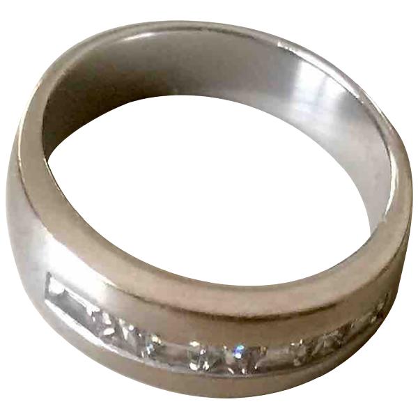 Harrods Silver White Gold Ring