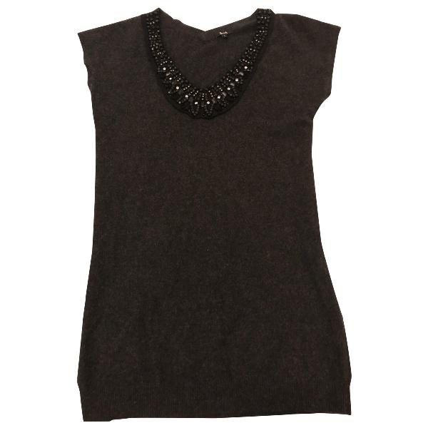 Harrods Grey Cashmere Dress