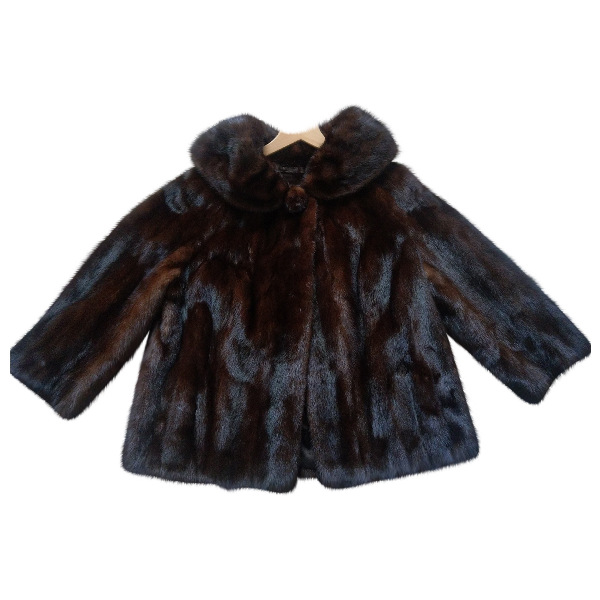 Harrods Brown Mink Coat