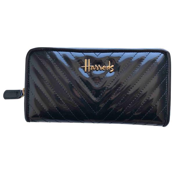 Harrods Black Wallet