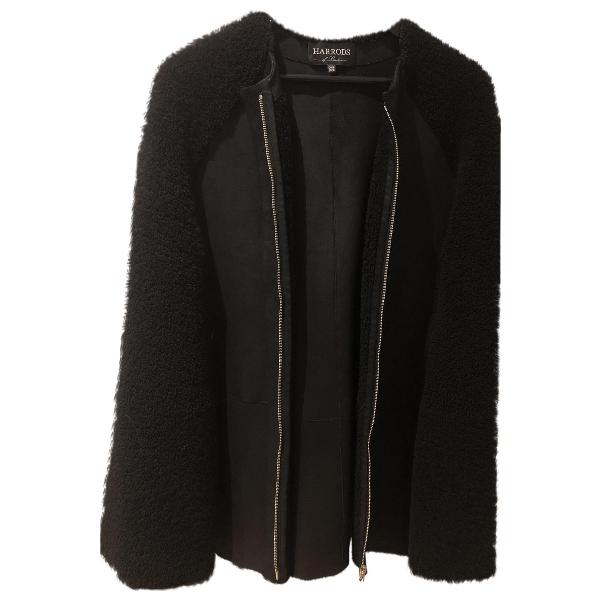 Harrods Black Shearling Jacket