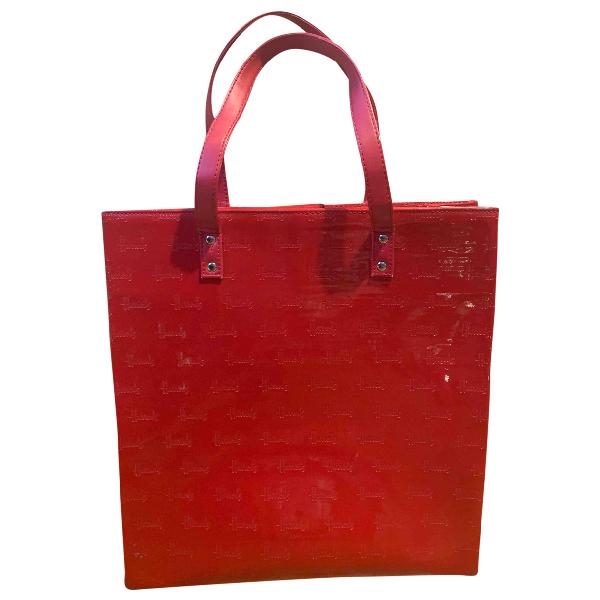 Harrods Red Patent Leather Handbag