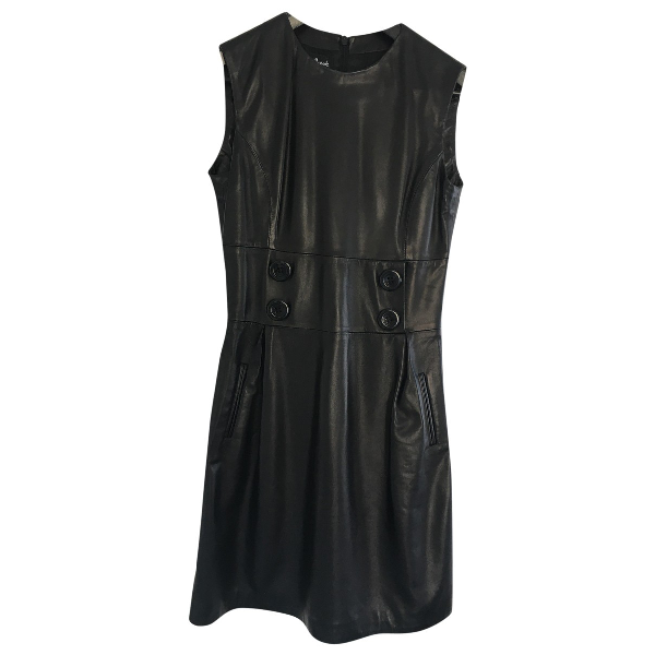 Harrods Black Leather Dress