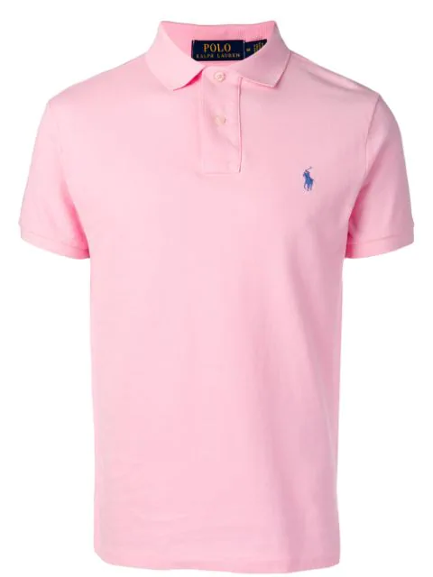 Polo Ralph Lauren Men's Big & Tall Classic Fit Performance Polo In Pink