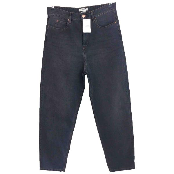 Etoile Isabel Marant Black Cotton Jeans