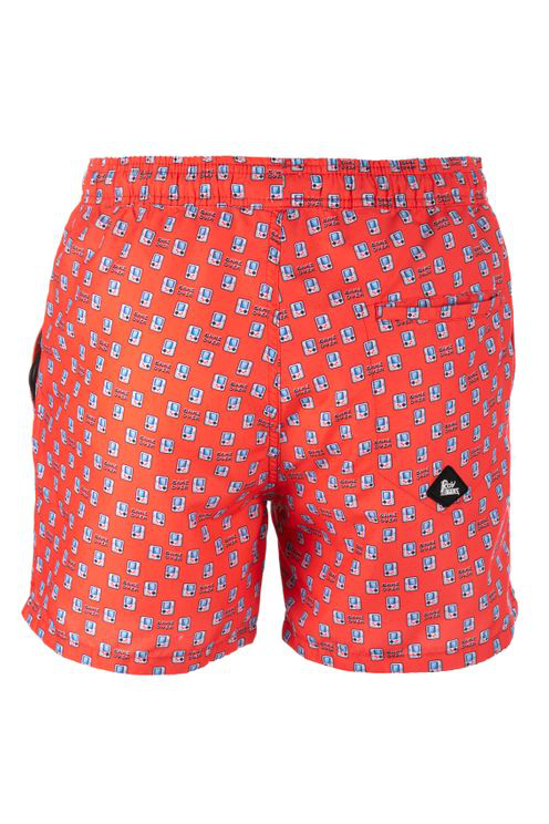 Roy Rogers Printed Shorts In Red