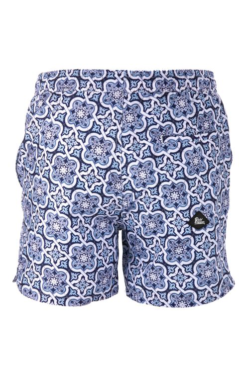 Roy Rogers Printed Shorts In Blue