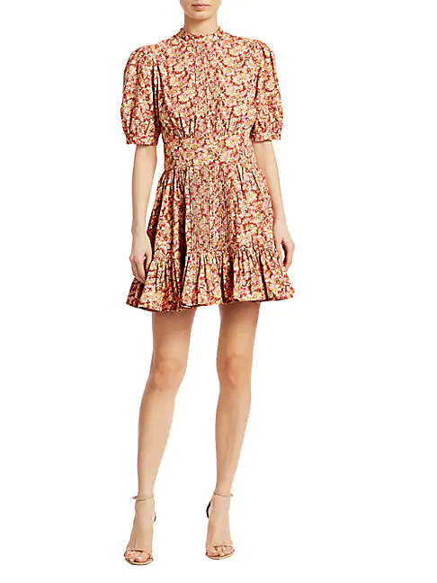 Bytimo Women's Floral Mini Dress