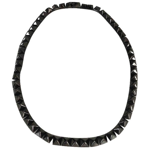 Eddie Borgo Black Metal Necklace