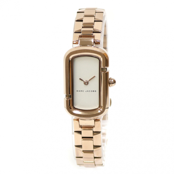 Pre-owned Marc Jacobs Gold Steel Watch