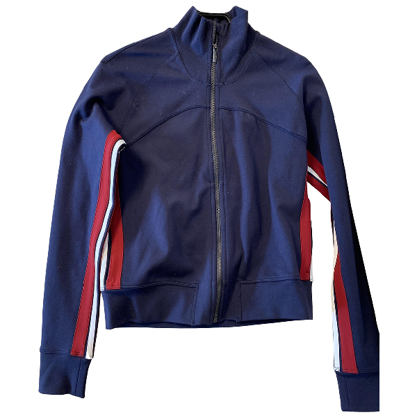 Lululemon Navy Cotton Jacket