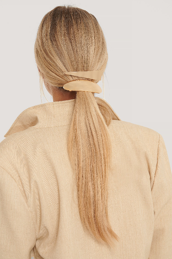 Na-kd 2-pack Big Hairclips Gold