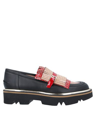 Pollini Loafers In Black