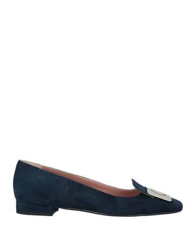 Pollini Loafers In Dark Blue