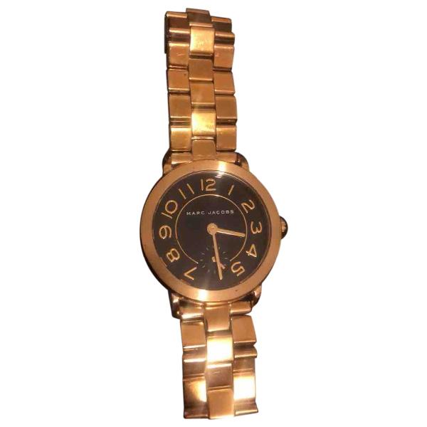 Marc Jacobs Gold Steel Watch