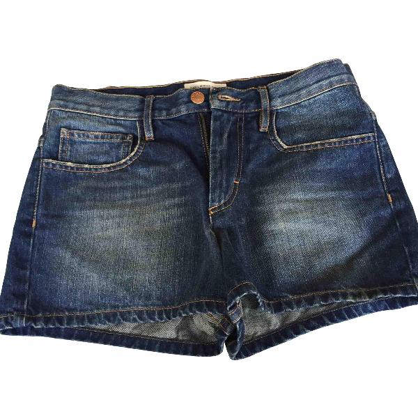 Etoile Isabel Marant Blue Denim - Jeans Shorts