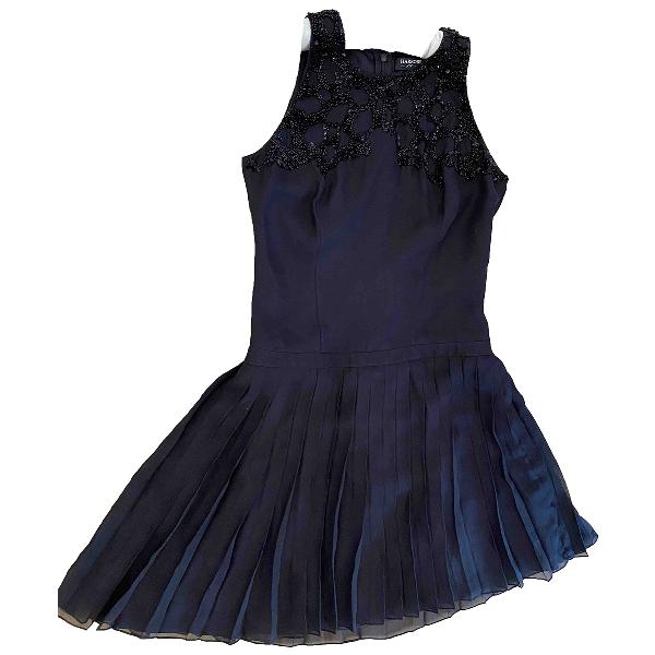 Harrods Black Silk Dress