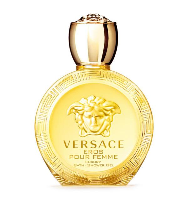 Versace Eros Pour Femme Bath & Shower Gel 200ml In White
