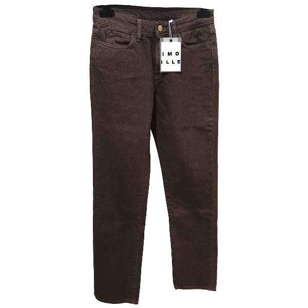 Simon Miller Brown Cotton Jeans
