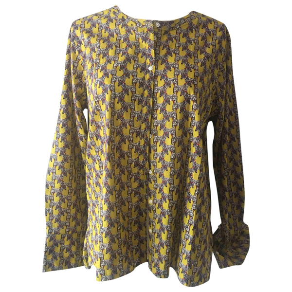 Pre-owned Chloé Stora Yellow Cotton  Top