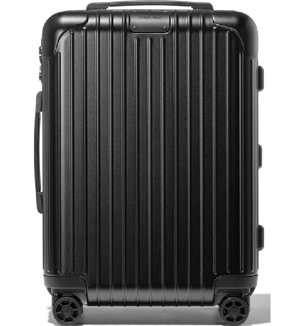 Rimowa Essential Cabin 22-inch Wheeled Suitcase In Matte Black