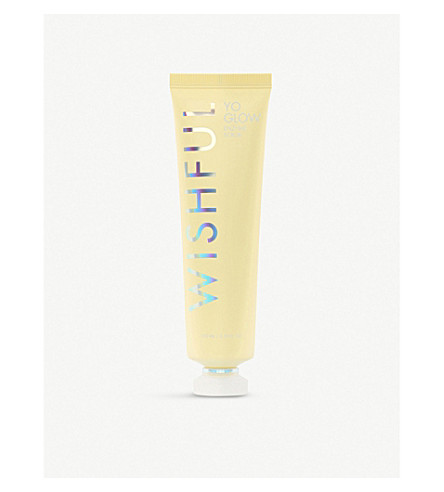 Huda Beauty Wishful Yo Glow Enzyme Scrub 100ml