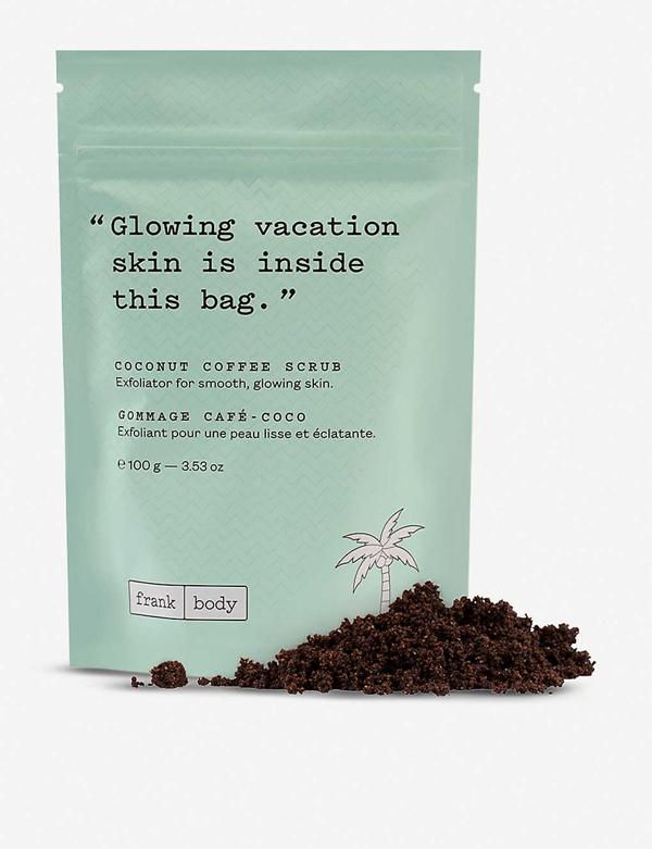 Frank Body Coconut Coffee Scrub 100g