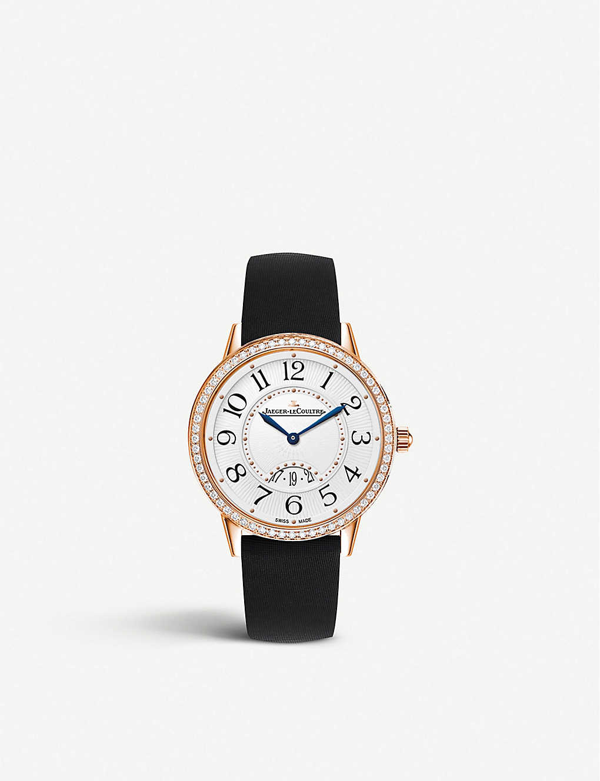 Jaeger-lecoultre Q3472530 Rendez-vous 18ct Rose-gold And Calf-leather Watch