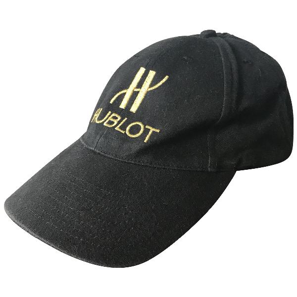 Hublot Black Cotton Hat & Pull On Hat