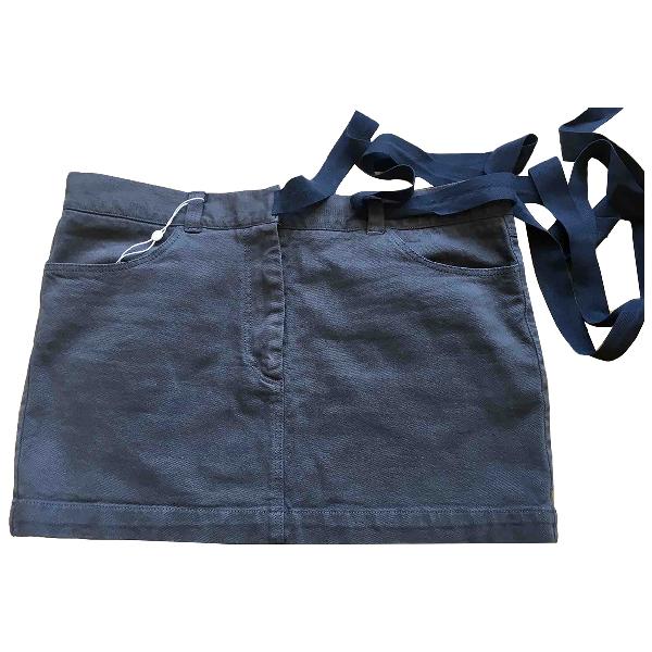 Etoile Isabel Marant Grey Denim - Jeans Skirt