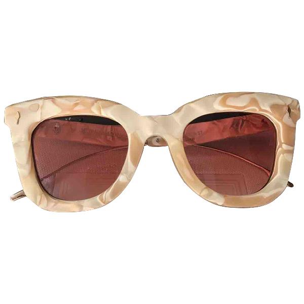 Jacquesmariemage Ecru Sunglasses
