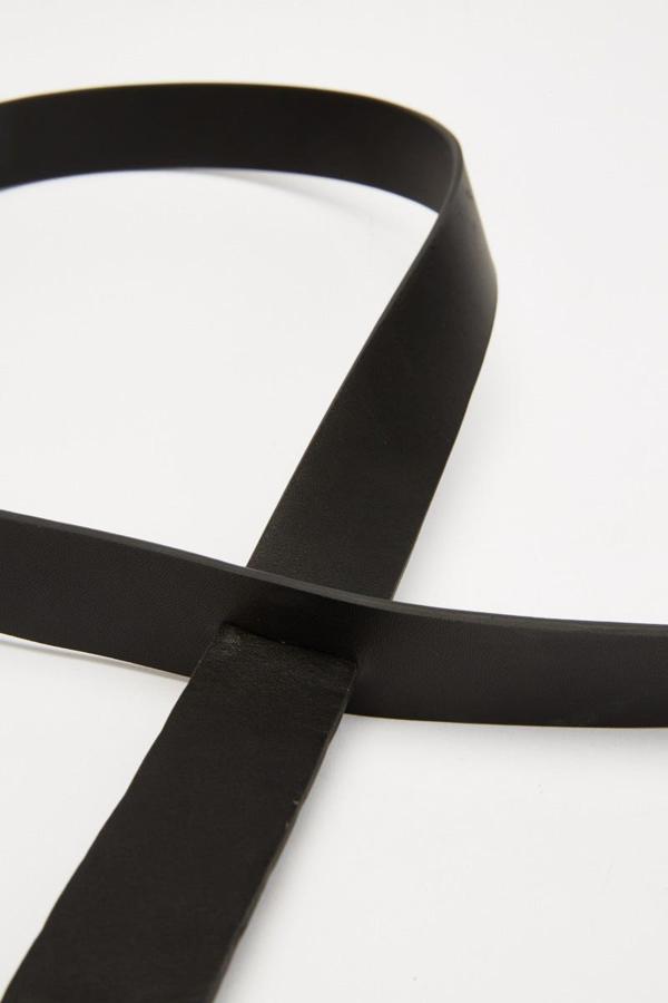 Jaggar Origami Belt In Black