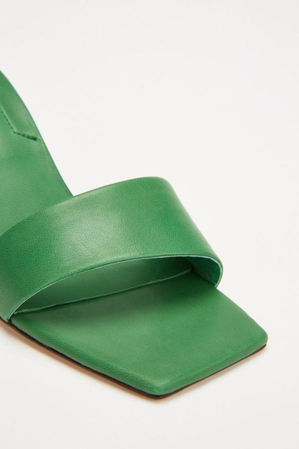 Jaggar Oblique Heel In Green