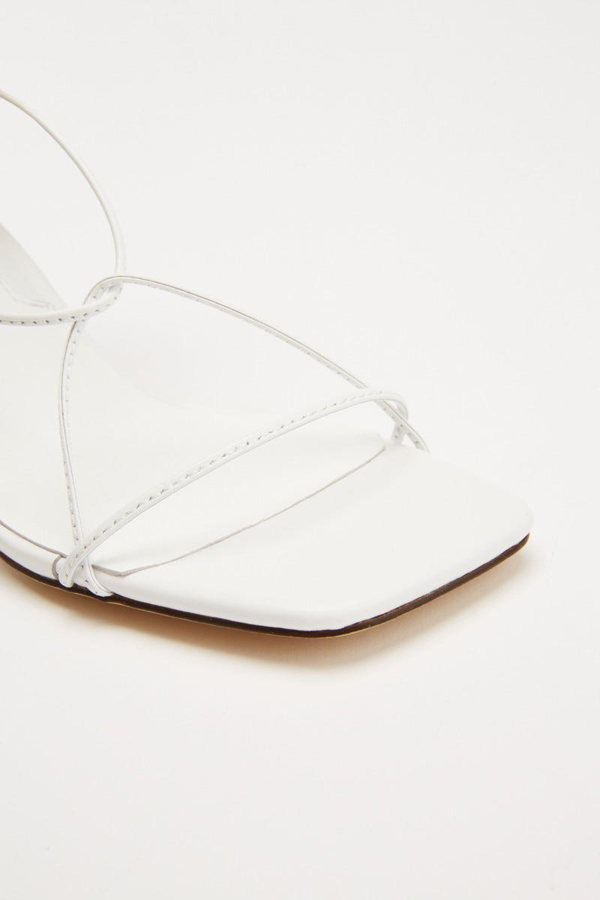 Jaggar Laced Sandal In Ivory